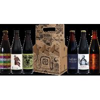 Tamsaus alaus rinkinys išvaizdžioje dėžutėje 6x0.5l