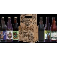Apynio gerbėjo alaus rinkinys išvaizdžioje dėžutėje 6x0.5l