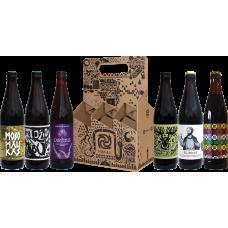 Lietuviško alaus rinkinys išvaizdžioje dėžutėje 6x0.5l