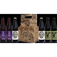 GRUIT žolinio alaus rinkinys išvaizdžioje dėžutėje 6x0.5l