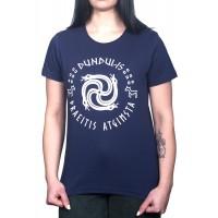 Moteriški marškinėliai su Dundulio ženklu